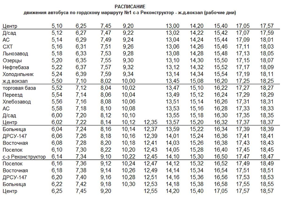 Расписание автобуса бам черемушки